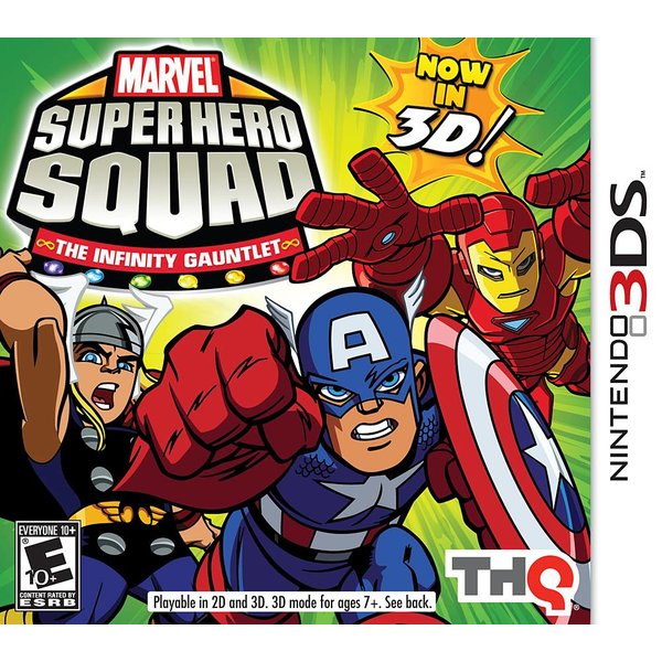 3DS Used: Marvel Super Hero Squad - The Infinity Gauntlet