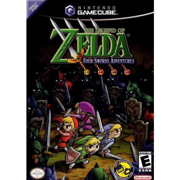 Gamecube Used: Zelda Four Swords Adventures