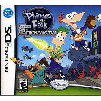 DS Phineas & Ferb Across the 2nd Dimension kopen