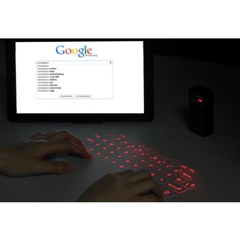 Gaming US Wireless Laser Projection Keyboard Android & Windows kopen