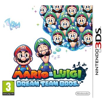 3DS Mario & Luigi Dream Team Bros.