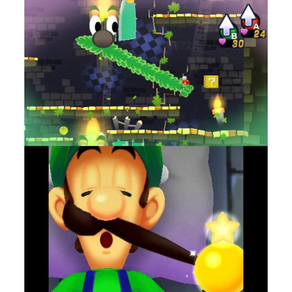 3DS Used: Mario & Luigi Dream Team Bros.