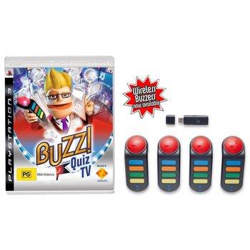 PS3 Buzz! Quiz TV met 4 Buzzers kopen