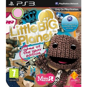 PS3 Little Big Planet Game of The Year Edition