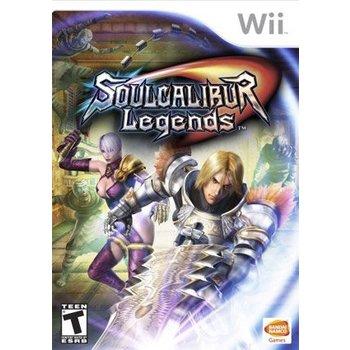 Wii Soul Calibur Legends