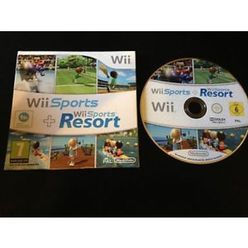 Wii Sports Resort + Wii Sports (kartonnen sleeve) kopen