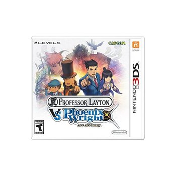 3DS Professor Layton vs Phoenix Wright: Ace Attorney