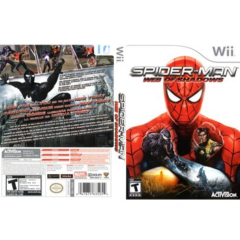 Wii Spiderman Web of Shadows