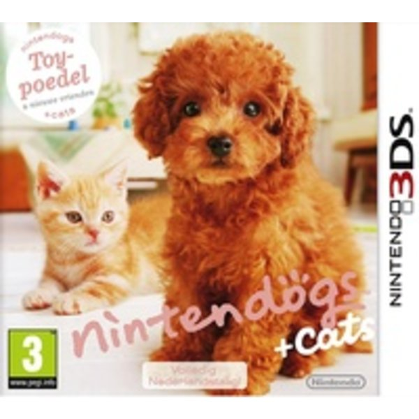 3DS Used: Nintendogs + Cats Toy Poedel