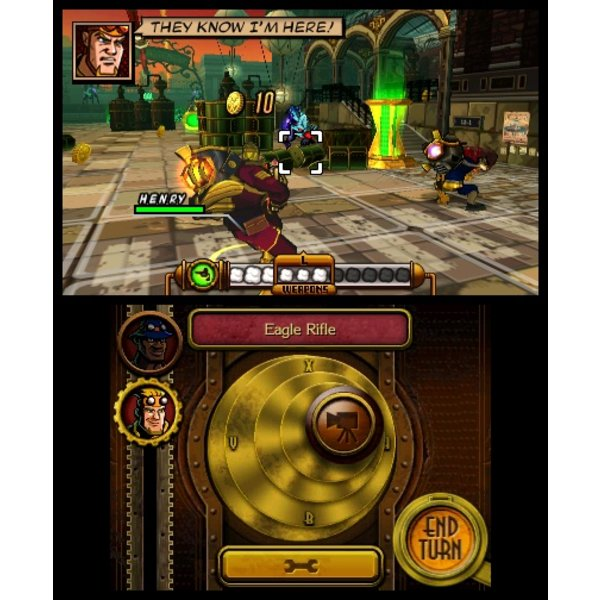 3DS 2e hands: Code Name S.T.E.A.M.