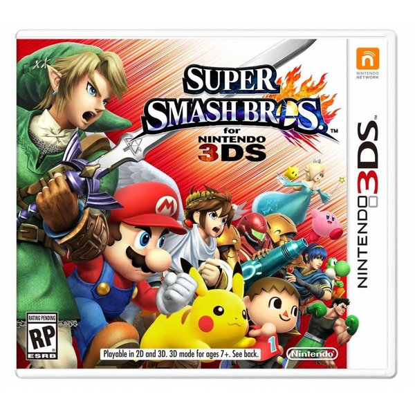 3DS Used: Super Smash Bros.
