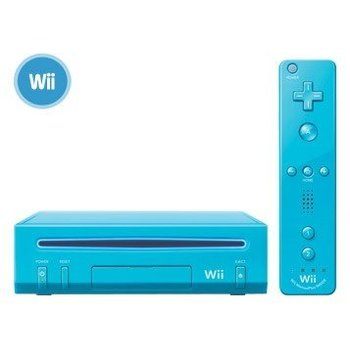 Wii Wii console Nieuwe Editie Blauw