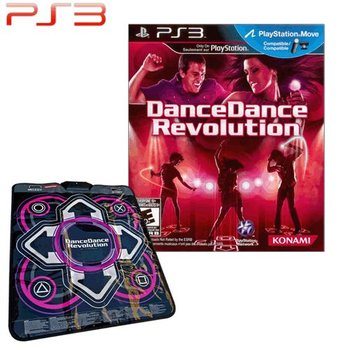 PS3 Dance Dance Revolution New Moves with mat
