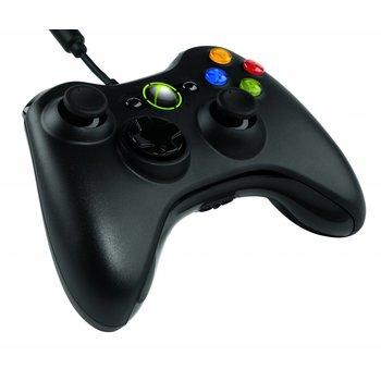 Xbox 360 Bedrade Controller Zwart