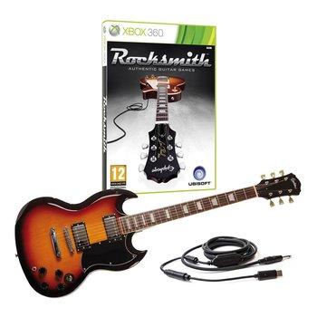 Xbox 360 Rocksmith (Rock Smith) incl Realtone Cable