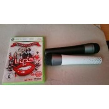Xbox 360 Lips Number One Hits incl 2 microfoons