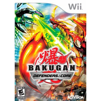 Wii Bakugan Defenders of the Core