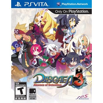 PS Vita Disgaea 3: Absence of Detention
