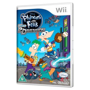 Wii Phineas And Ferb: Across the 2nd Dimension
