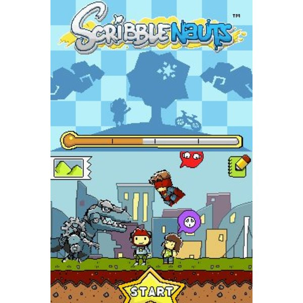 DS Used: Scribblenauts