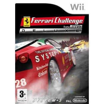 Wii Ferrari Challenge Deluxe