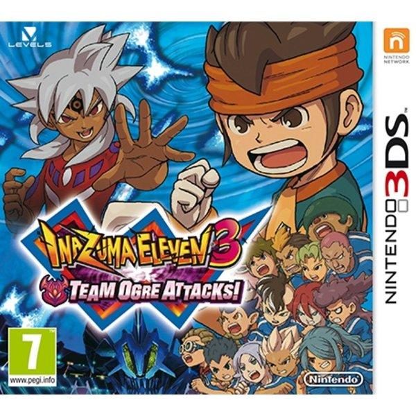 3DS 2e hands: Inazuma Eleven 3: Team Ogre Attacks!