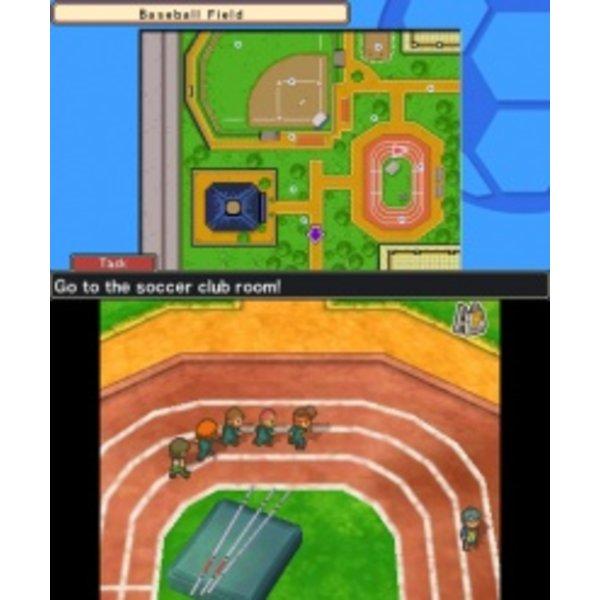 3DS Used: Inazuma Eleven 3: Team Ogre Attacks!