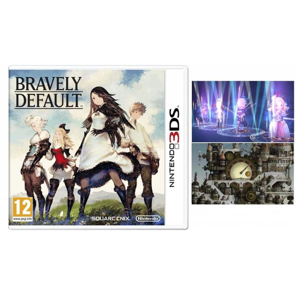 3DS Used: Bravely Default