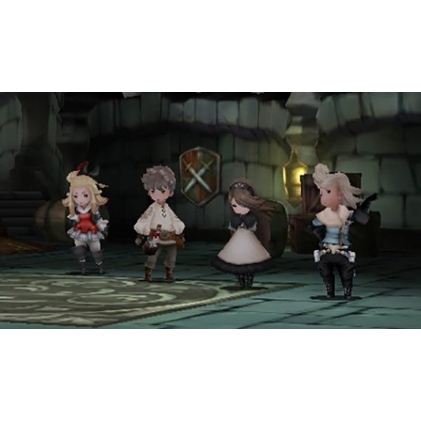 3DS 2e hands: Bravely Default