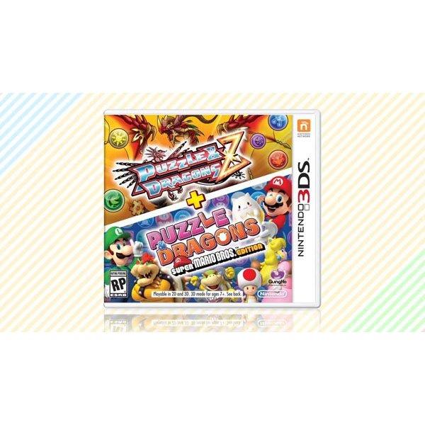 3DS Used: Puzzle & Dragons Z + Super Mario Bros Edition