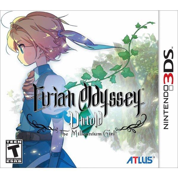 3DS Used: Etrian Odyssey Untold: The Millennium Girl