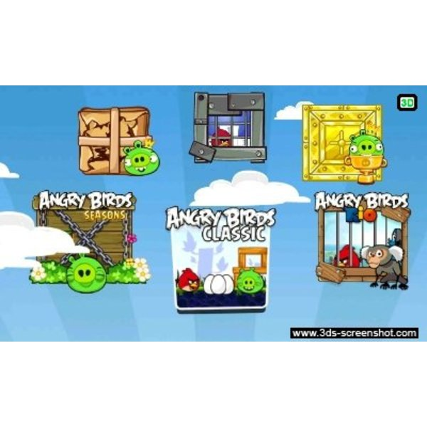 3DS 2e hands: Angry Birds Trilogy
