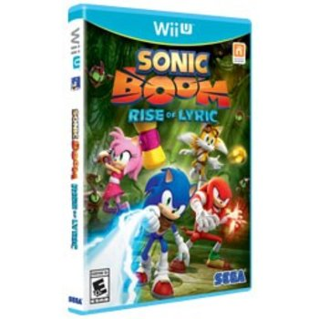 Wii U Sonic Boom Rise of Lyrics