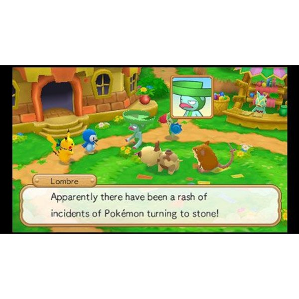 3DS Used: Pokémon Super Mystery Dungeon