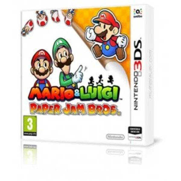 3DS Used: Mario & Luigi Paper Jam Bros.