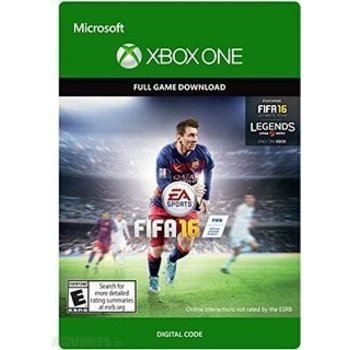 Xbox One FIFA 16 - Digital Download Code
