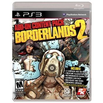 PS3 Borderlands 2 Add-on Pack