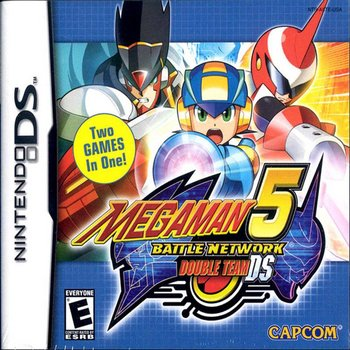 DS Megaman 5 Battle Network Double Team