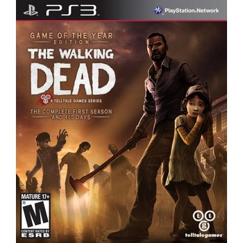PS3 The Walking Dead Game of the Year