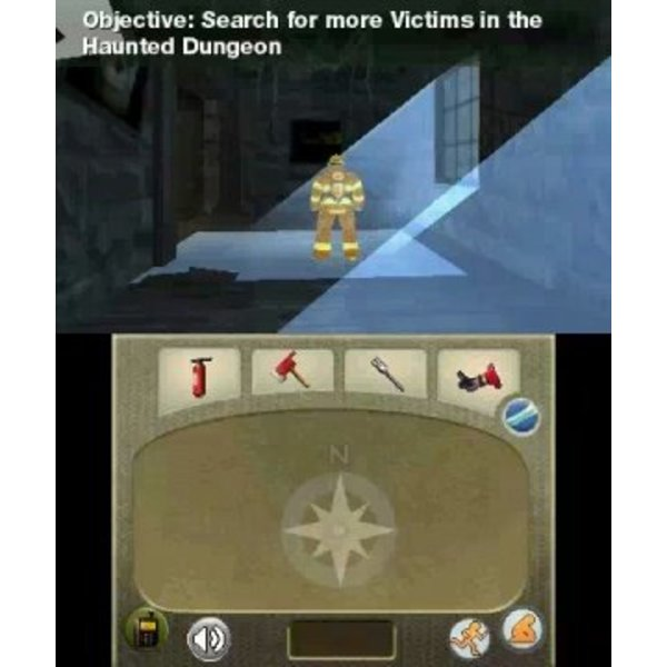 3DS Used: Real Heroes Firefighter 3D