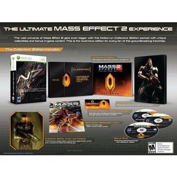Xbox 360 Mass Effect 2 Collector's Edition