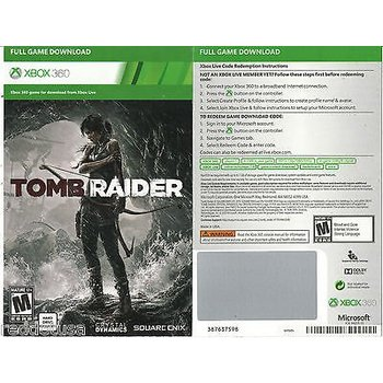 Xbox 360 Tombraider 2013 - Digital Download Code