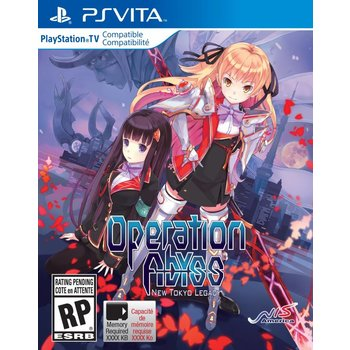 PS Vita Operation Abyss New Tokyo Legacy