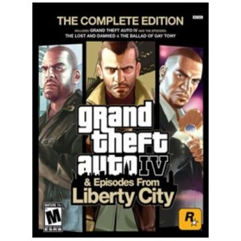 PC Grand Theft Auto IV GTA (Complete Edition) Steam Key