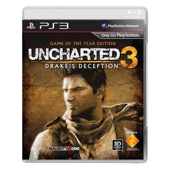 PS3 Uncharted 3: Drake's Deception Game of the Year