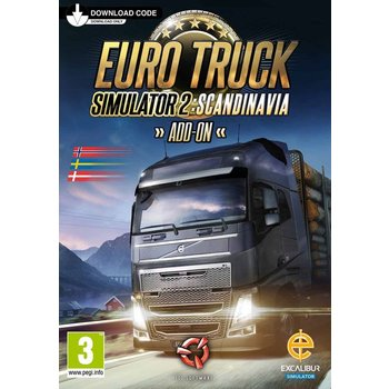 PC Euro Truck Simulator 2: Scandinavia Steam Key kopen