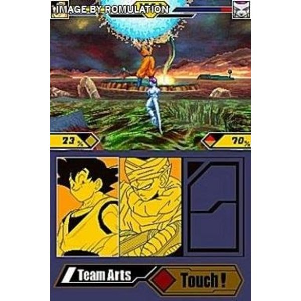 DS Used: DragonBall Z Supersonic Warriors 2