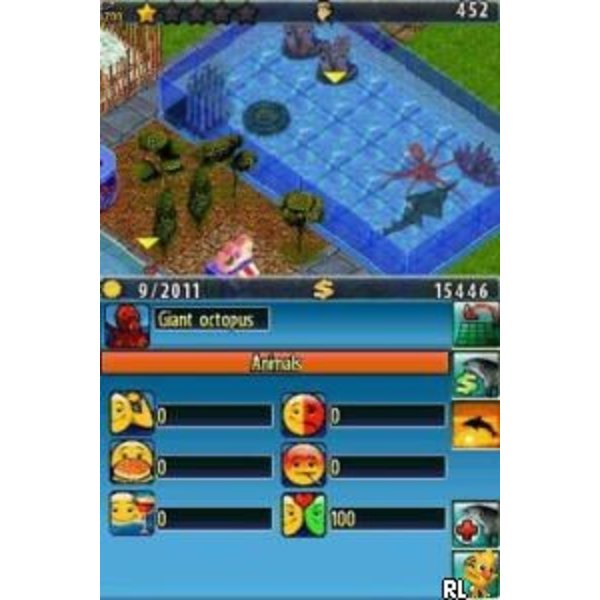 DS Used: Sea Park Tycoon