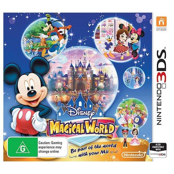 3DS 2e hands: Disney Magical World