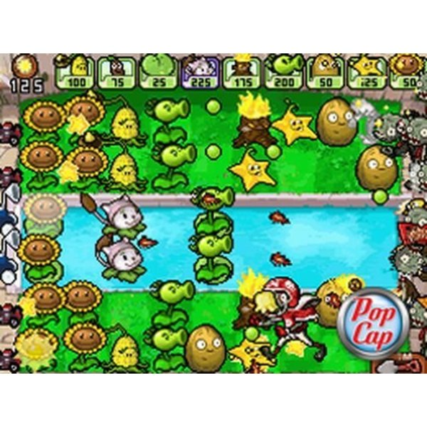 DS Used: Plants vs. Zombies